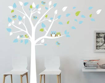 Baby Wall Decals, Nursery Wall Decals, Tree Wall Decal , Tree Wall Stickers, Part 79