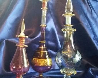 Oriental perfume bottles