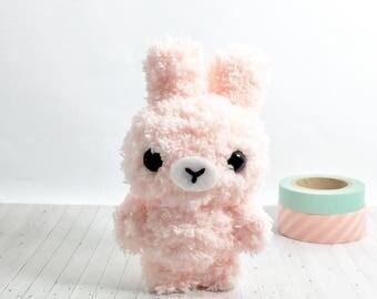 Kawaii Bunny - Bunny Plush - Kawaii Plush - Stuffed Bunny - Gift For Her - Crochet Bunny - Kawaii Keychain - Cute Plush - Easter Bunny