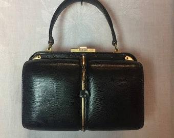 329. FERNANDE DESGRANGES- Top Handle Handbag