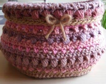 Crochet Basket - Home decoration