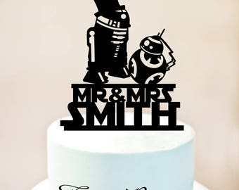 r2d2 wedding cake topper custom wedding cake topper wars up 18951