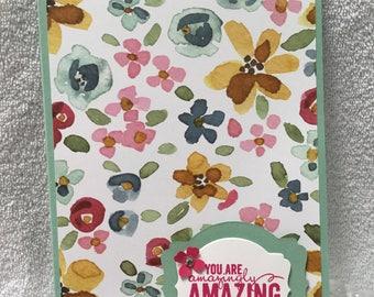 Gorgeous handmade notepad