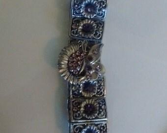 FLOWER AND BUTTERFLY Bracelet-