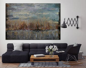 Large Wall Art Abstract Decor Painting On