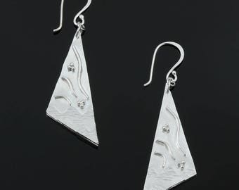 Handmade Shapes and Textures Earrings