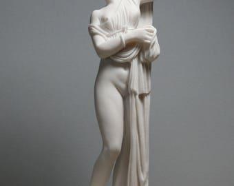 Goddess Venus Aphrodite Kallipygos Erotic Art Alabaster Statue Sculpture 9.84in - 25cm **Free Shipping & Free tracking Number**