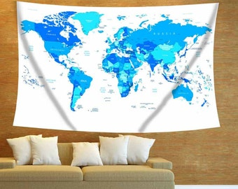 detailed world mapwhite world maphighle detailed mapworld map tapestry