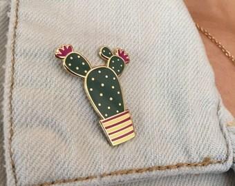 Cactus - Hard Enamel Pin - Cactus Pin - Cactus Hard Enamel Pin - Enamel Pin - Cute Cactus - Gift - Cactus Gift