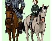 Game of Thrones - Arya & Hound