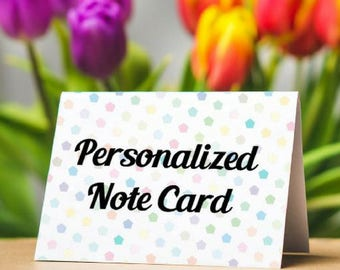 Personalized Note Card Add On for The Art of ProCraftination