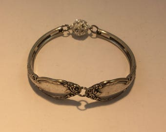 1952 Enchantment silver spoon bracelet