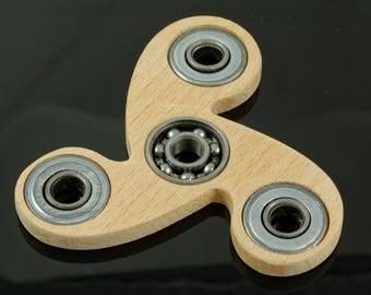 Wooden Fidget Spinner, Wooden Hand Spinner Fidget Toy, Bearing Spinner, Handmade Wooden Spinner