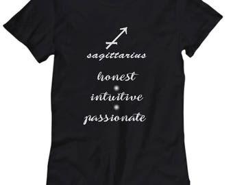 Sigittarius shirt, Women's tee Sigittarius zodiac sign, Astrology t shirt, Sigittarius zodiac gift