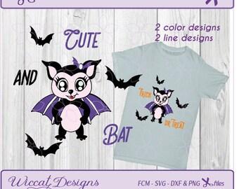 Bat girl svg, svg halloween, Bat for girls svg, girls svg, bat svg, scanncut, halloween svg file, dxf cut file, halloween dxf, funny bat svg