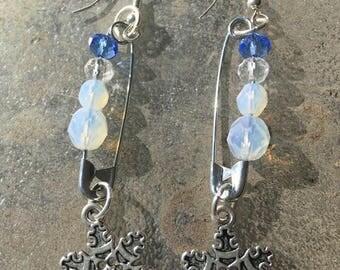 Ice Crystal Earrings