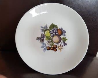 6 X Vintage Swinnertons Harvest Fruit Supper Plates