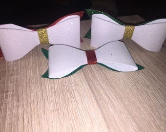 Large glitter felt hair Bows
