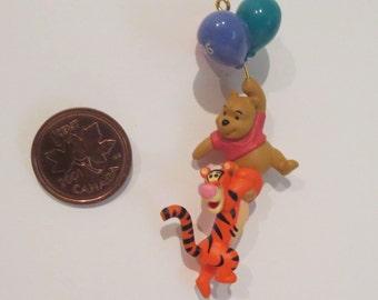 Winnie The Pooh and Tigger Vintage Hallmark Mini Ornament