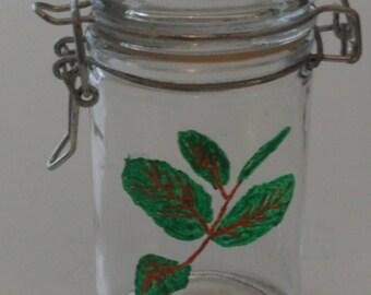 Spice jar - range Spice - jar for storing Mint