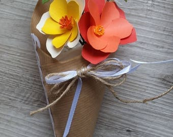 Mini Cone-cone flowers Bouquet