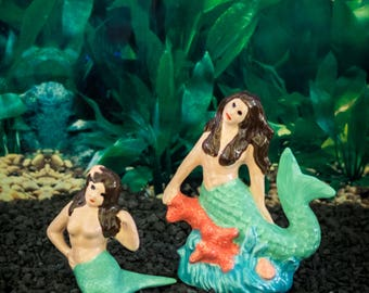 Swimming Mermaids (set of 2)