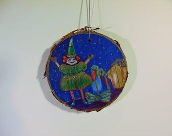 Santa's Elf Ornament