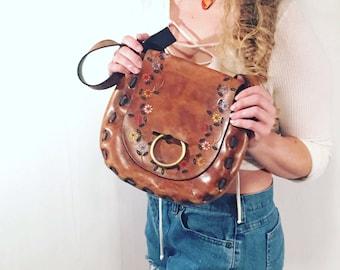 1970's handmade handbag