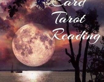Tarot Reading! Three card tarot reading