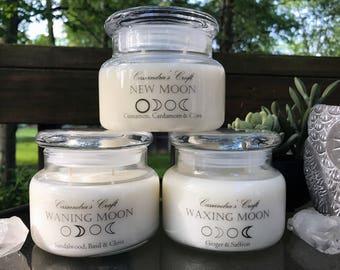 Mystic Moon Candles