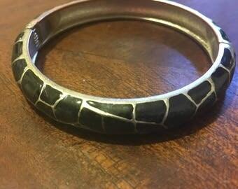 Black Snake Women's Bangle/ Bracelet