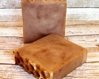 goat milk and honey soap | body soap | hand soap | soap | cold process soap | all natural soap | fancy soap | mens soap | soap for guys