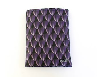 SALE Dragon Scales Obsidian book sleeve