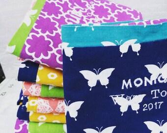 Custom Personalized Machine Embroidered Pillowcase