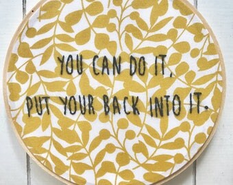 """embroidery hoop 