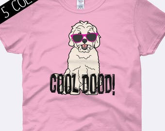 Cool Dood Shirt, Doodle Shirt, Goldendoodle Shirt, Doodle Clothing, Dog Shirt, Labradoodle Shirt, Dog Shirt, Ladies Shirt, Womens Shirt