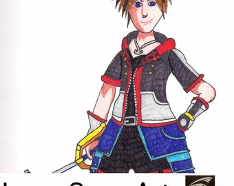 Handmade: Kingdom Hearts 3 Sora