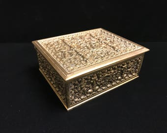 Brass Cegar Box