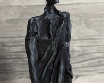 KZ HOMINIS WW2 - Mixed media Sculpture