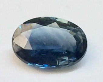 23DDKS - Oval Sapphire - .83 carats - September Birthstone