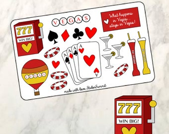 Las Vegas Planner Stickers