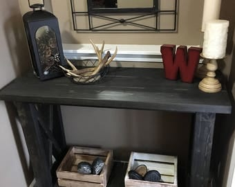 Custom Entryway Table