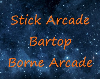 Terminal Arcade and Bartop Arcade Stick.
