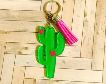 Cactus Keychain / key chain / Cactus