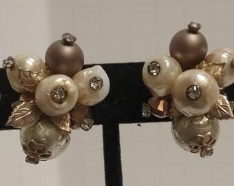 Vendome Cluster Earrings