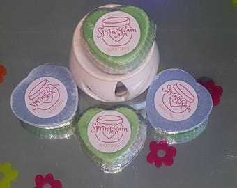 Spring Rain    Scented Soy Wax Melt   Gift for her   Carnations   Tiger Lillies   Orchids   Roses