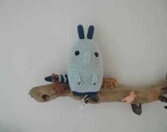 Oliver the raccoon crochet
