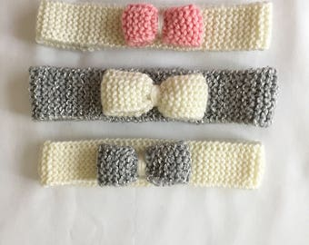 Baby Girl Headband | Colored Headband | Baby Bow Headband
