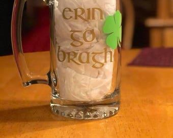 Erin Go Bragh Beer Stein