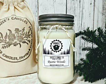 Man Candle - Christmas Gift for Guys - Mandle -  Masculine Candles - Candles For Men - Gifts for him - Boyfriend Gift - Manly Scents
